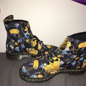 ADVENTURE TIME DOC MARTENS